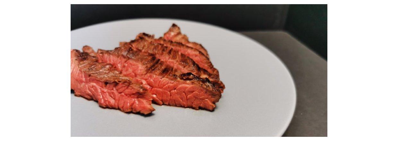 Sous vide nyretapper (Hanger Steak / Boeuf Onglet)