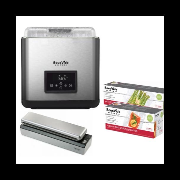 SousVide Supreme® Touch 11 Liter Paketerbjudande