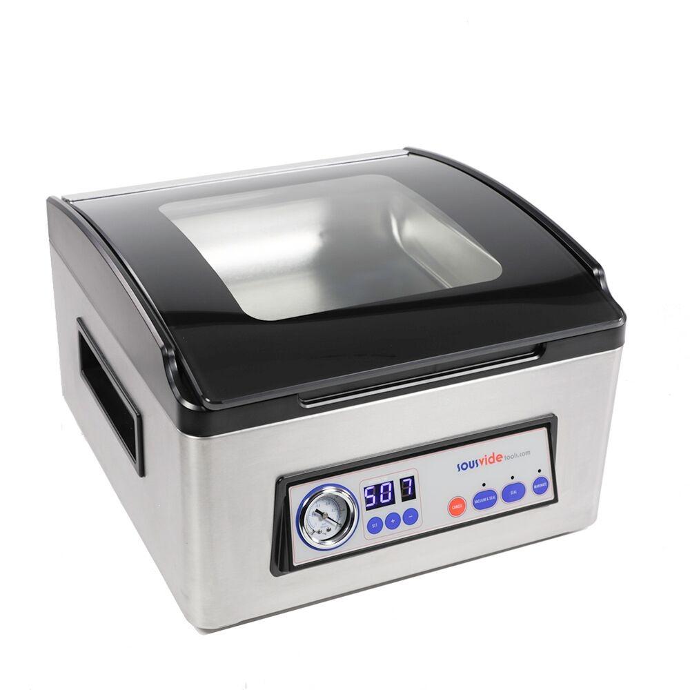 Attraktiva SousVideTools® iVide® Kammar-vakuumförpackare - VAKUUMFÖRPACKARE AB-51