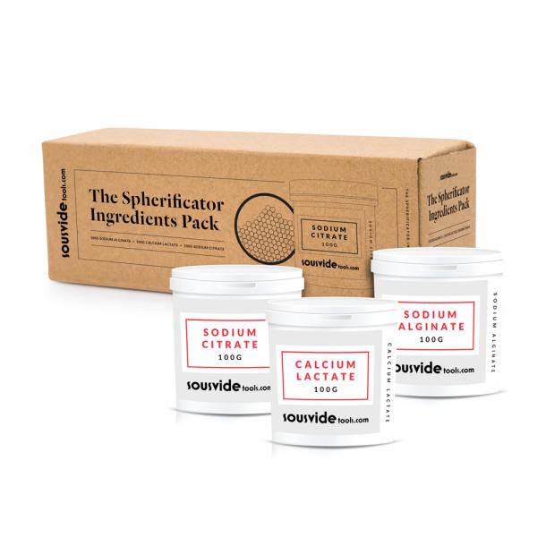 The Spherificator Ingredienspakke